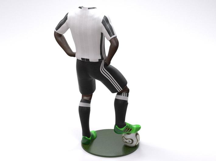 Juventus 1/8 Standing Figure Black 3d printed