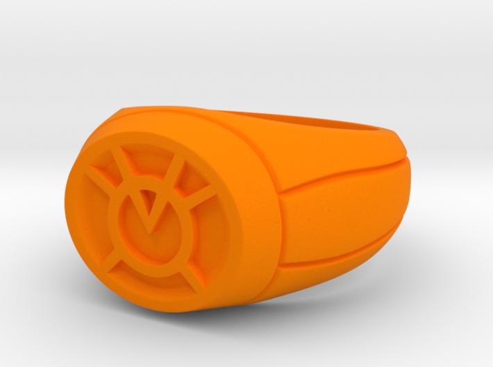 23.8 mm Orange Lantern Ring 3d printed