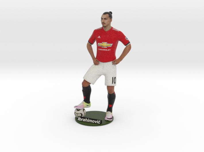Zlatan Ibrahimović 1/6 Standing Figure 3d printed