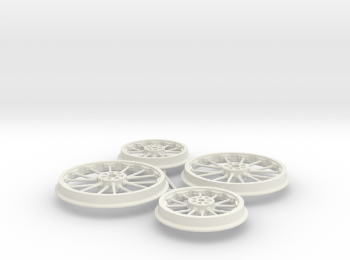 Bury 2-2-0 wheels 3d printed