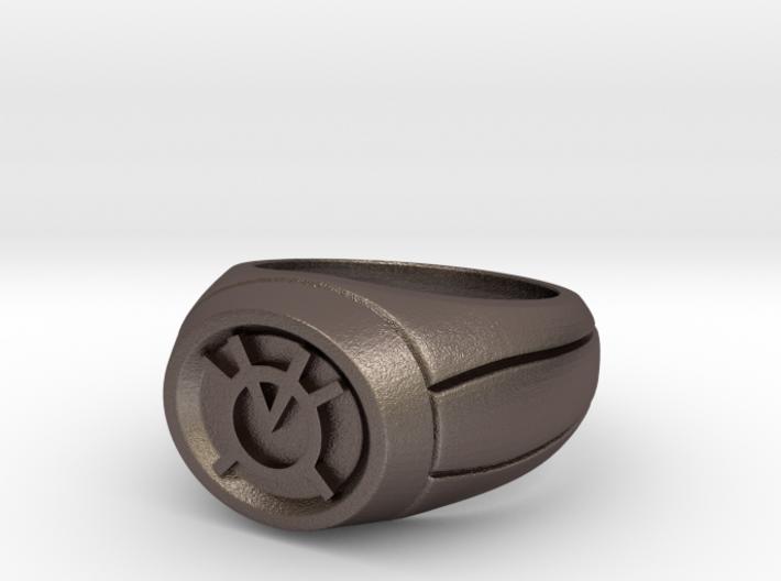 19.4 mm Orange Lantern Ring 3d printed