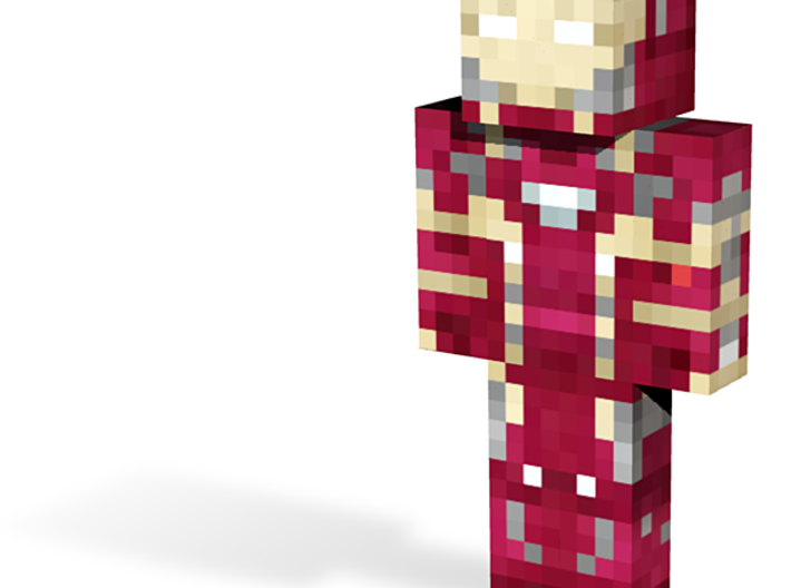iron man | Minecraft toy 3d printed