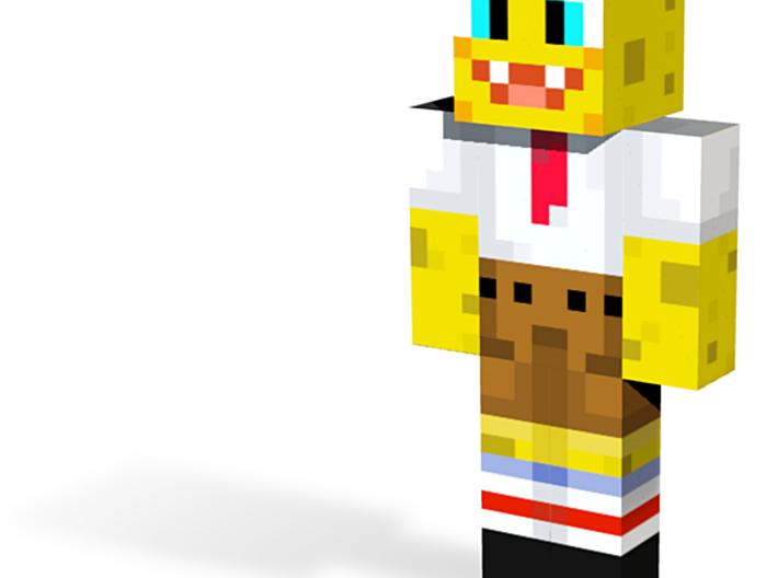 sponge | Minecraft toy 3d printed