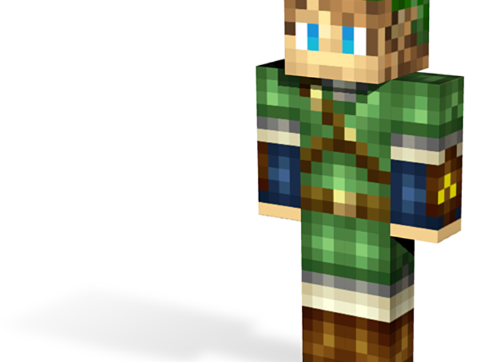Forest hero | Minecraft toy 3d printed