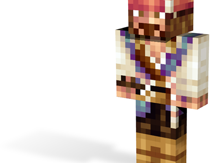 Pirate | Minecraft toy 3d printed