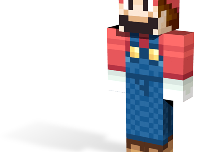 plumber | Minecraft toy 3d printed