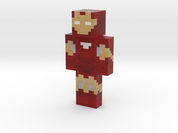 Iron dude   Minecraft toy 3d printed