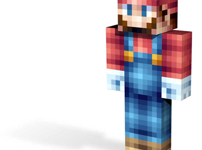 Plumber   Minecraft toy 3d printed