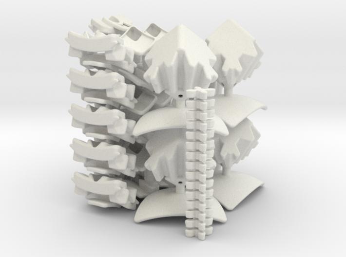 Geared 5x5x5 - set 2 - 2x 3d printed