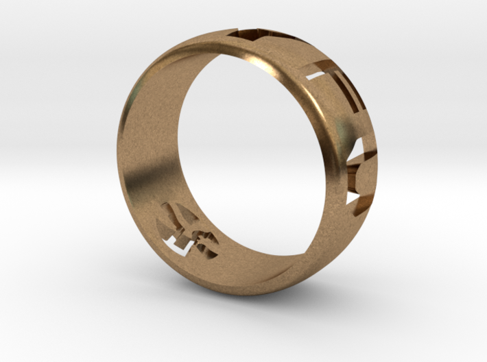 YFU Ring Cut Out (Size 9 / 18.9mm) 3d printed