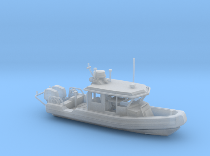 25' Response Boat Small (HO Scale) 3d printed