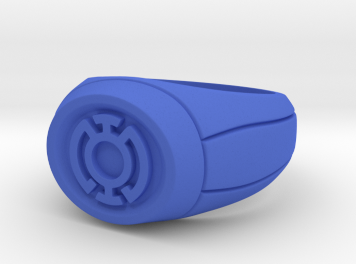 22.2 mm Blue Lantern Ring 3d printed