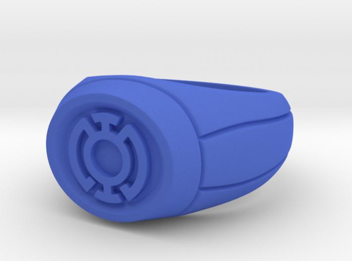 18.9 mm Blue Lantern Ring 3d printed