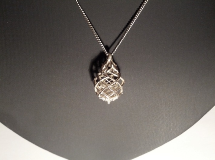 Celtic Weave Pendant (Small) 3d printed