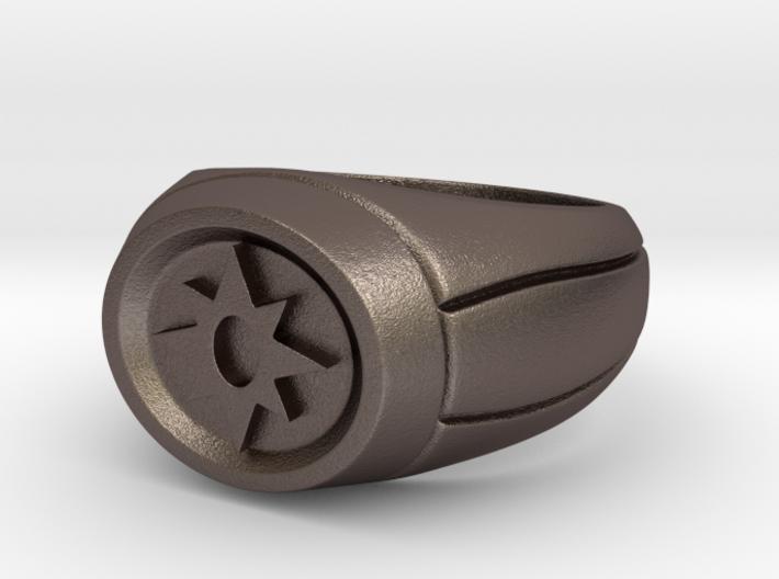 21 mm Violet Lantern Ring 3d printed