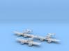 Grumman XF5F Skyrocket 1:200 x3 FUD 3d printed