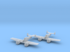 Grumman XF5F Skyrocket 1:200 x2 FUD 3d printed