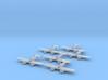 Grumman XF5F Skyrocket 1:285 x6 3d printed