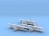 Grumman FF-1 'Fifi' 1:200 x3 FUD 3d printed