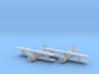 Grumman FF-1 'Fifi' 1:200 x2 FUD 3d printed