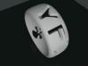 YFU Ring Cut Out  (Size 13 / 22.2mm) 3d printed Rendered Blender Image