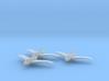 Northrop XP-56 1:200 x3 FUD 3d printed