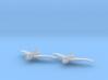 Northrop XP-56 1:200 x2 FUD 3d printed