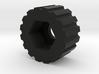 Thumbwheel Type A (Part TWA22) 3d printed