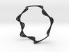 Triple Wave Bracelet (64mm) 3d printed