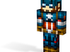 Captain | Minecraft toy 3d printed