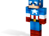 Captain Liberty   Minecraft toy 3d printed