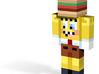 Sponge hamburger   Minecraft toy 3d printed