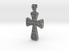 Ornate Cross Pendant - Medium 3d printed