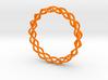 Helix Weave Bracelet (60mm) 3d printed