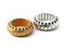 ELISABETH ring regular (61mm/19,25mm/9.5US) 3d printed Elisabeth ring regular