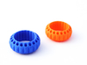 ELISABETH ring bold (54mm/17,25mm/7.6US) 3d printed Elisabeth Ring bold