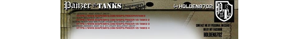 Panzer VS Tanks Shop Banner