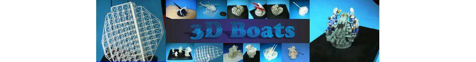 3D Boats Shop Banner