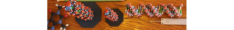 3D Molecule Models Shop Banner
