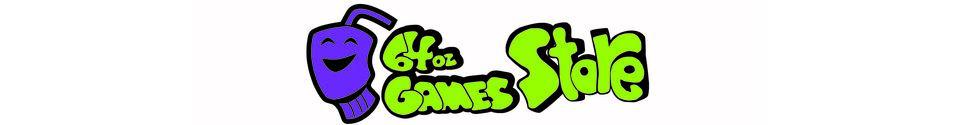 64 Oz. Games Shop Banner