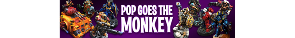 POP Goes the MONKEY - Custom Bits and Pieces Shop Banner