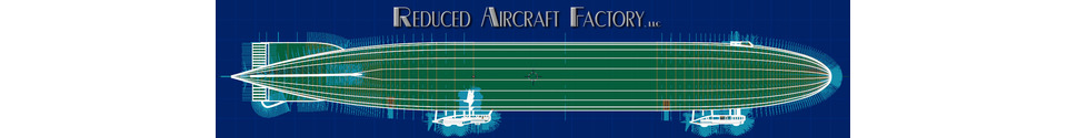 Reduced Aircraft Factory Shop Banner