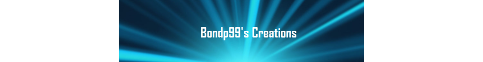 Bondp99's Creations Shop Banner